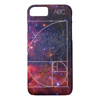 """Fibonacci-Gürteltier"" iPhone 7 Fall: Galaxie iPhone 8/7 Hülle"