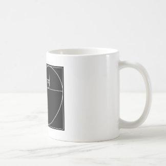 Fibonacci-Herz Kaffeetasse