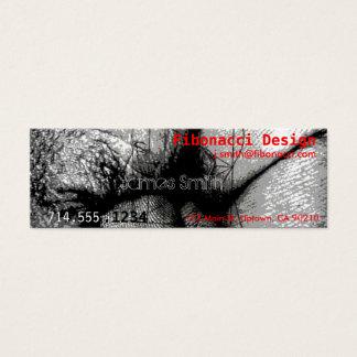 Fibonacci Mini Visitenkarte