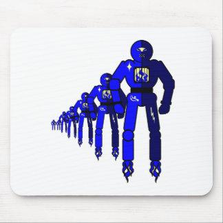 Fibonacci-Roboter Mauspads