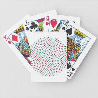 Fibonacci-Sonnenblume-Spirale - Melone Bicycle Spielkarten