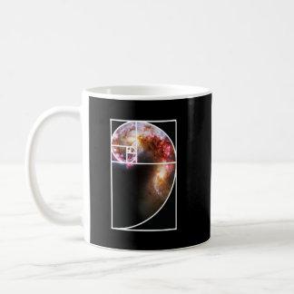 Fibonacci-Spiralarm Kaffeetasse