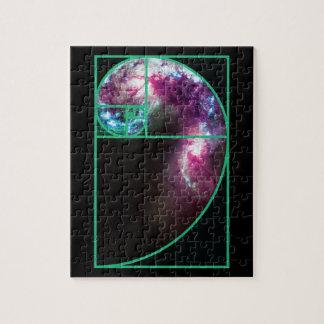 Fibonacci-Spiralarm Puzzle