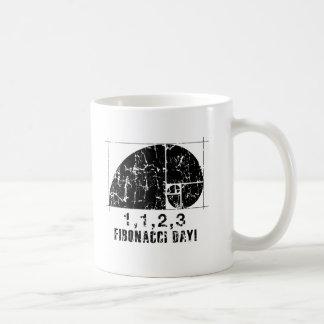 Fibonacci-Tag, 1,1,2,3, November, 23 Kaffeetasse