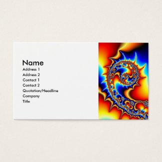 Fibonaccispikeral Visitenkarte