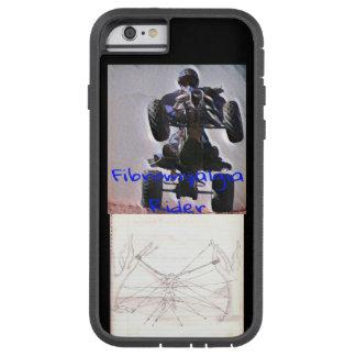 Fibromyalgia-Reiter-Telefon-Kasten Tough Xtreme iPhone 6 Hülle