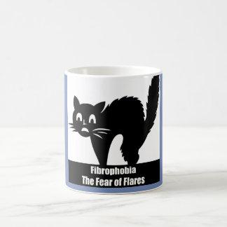 Fibrophobia Furcht vor Aufflackern-Kaffee-Tasse Kaffeetasse