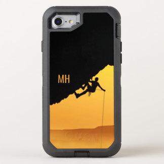 """""""FICHT"""" kundenspezifische Monogrammtelefon-Hüllen OtterBox Defender iPhone 8/7 Hülle"""