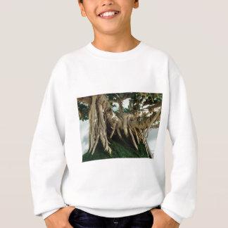 Ficusbonsaiswurzeln Sweatshirt