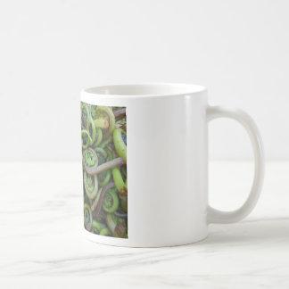 Fiddlehead-Farne Kaffeetasse