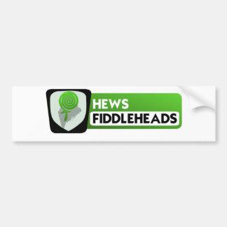 Fiddlehead-Logo größer Autoaufkleber
