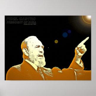 Fidel Castro-24x18-PRINT Poster