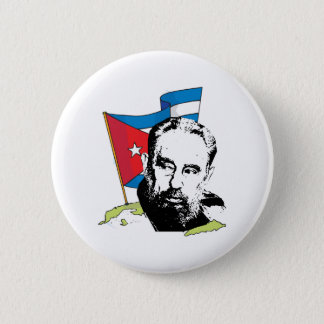 Fidel Castro Runder Button 5,1 Cm