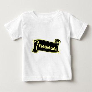 Fidelidad - Treue Schriftband Artdeco Fantasyart Baby T-shirt