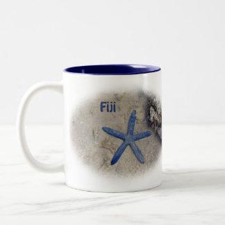Fidschi Seastar (Starfish) Zweifarbige Tasse
