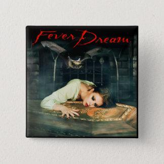 Fieber-Traum 2 Zoll-Quadrat-Knopf Quadratischer Button 5,1 Cm