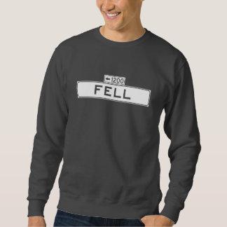 Fiel St., San Francisco Straßenschild Sweatshirt