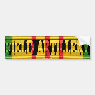 Field Artillery Vietnam Service Medal Sticker Autoaufkleber