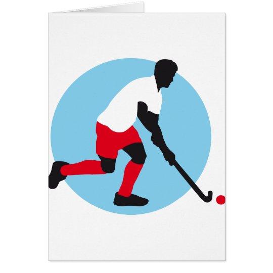 Field Hockey player Karte