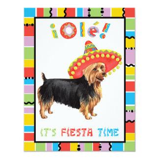 Fiesta australisches Terrier Karte