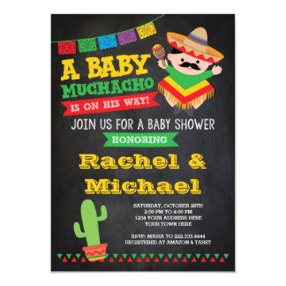 Fiesta-Babyparty-Einladung, Baby Muchacho Karte