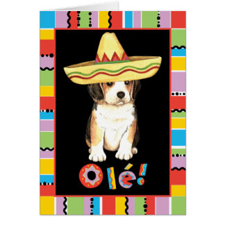 Fiesta-Beagle Karte