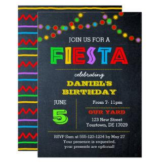 Fiesta beleuchtet Anlass-Einladung Karte