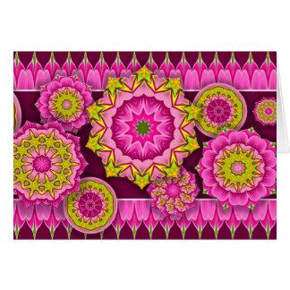 Fiesta-Blumen Karte