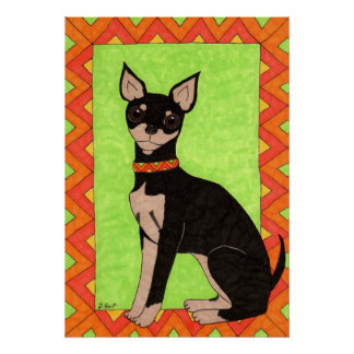 Fiesta-Chihuahua Poster