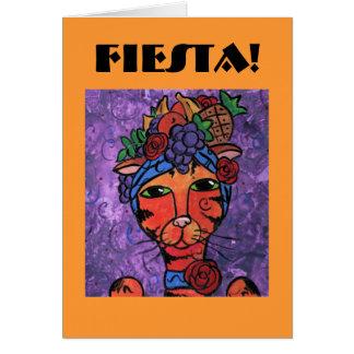 Fiesta-Einladung Karte