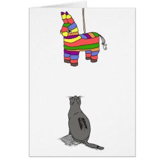 Fiesta, freier Raum Grußkarte