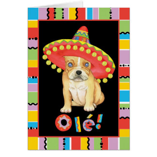 Fiesta Frenchie Karte