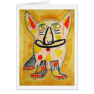 Fiesta-Hund Karte