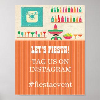 Fiesta Instagram Poster