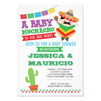 Fiesta-Jungen-Babyparty-Einladung Karte