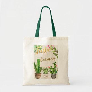 Fiesta-Kaktus-mexikanische Taschen-Tasche Tragetasche