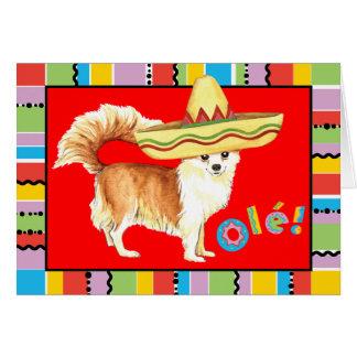 Fiesta-lange Mantel-Chihuahua Karte