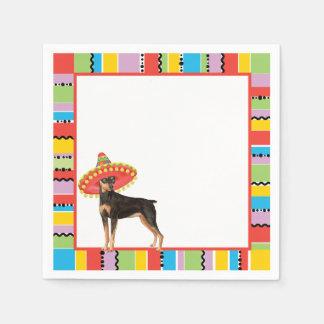 Fiesta-Minuten-Button Papierserviette