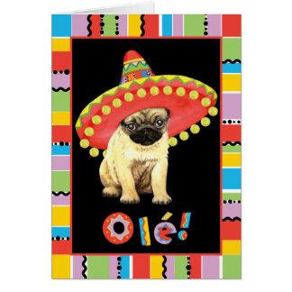 Fiesta-Mops Karte