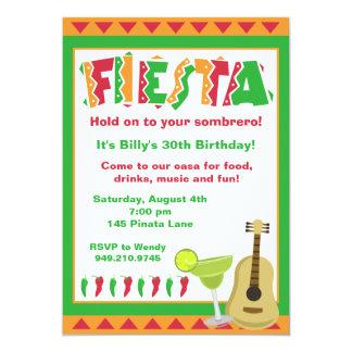 Fiesta-Party Einladung