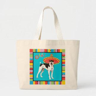 Fiesta-Ratte Terrier Jumbo Stoffbeutel