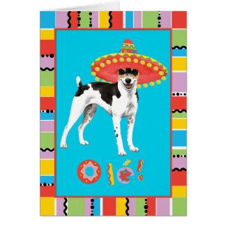 Fiesta-Ratte Terrier Karte