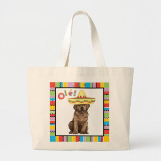 Fiesta-Schokoladen-Labrador Jumbo Stoffbeutel