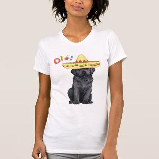 Fiesta-schwarzer Labrador T-Shirt