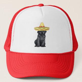 Fiesta-schwarzer Labrador Truckerkappe