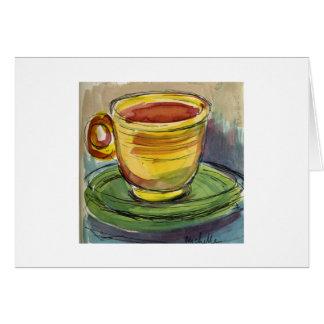 Fiesta Teacup Karte