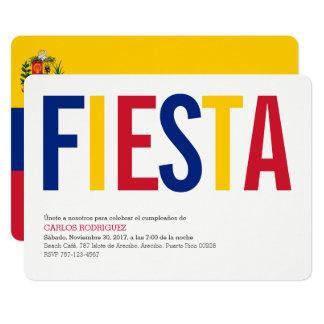 Fiesta Venezuela Karte