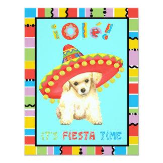 Fiesta-Zwergpudel Karte