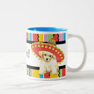 Fiesta-Zwergpudel Zweifarbige Tasse