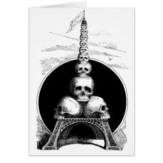 Figaro. Ein Eiffel-Turm für den Friedhof Karte